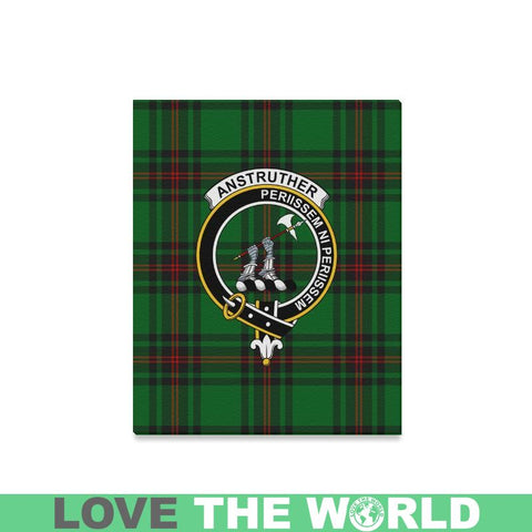 Tartan Canvas Print - Anstruther  Clan | Over 300 Scottish Clans and 500 Tartans