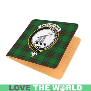 ANSTRUTHER CLAN TARTAN MEN WALLET A3