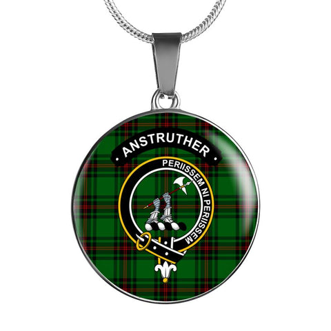 Anstruther Clan Tartan Silver ( Necklace And Bangle) F1 Jewelries