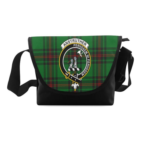 ANSTRUTHER TARTAN CLAN BADGE CROSSBODY BAG NN5