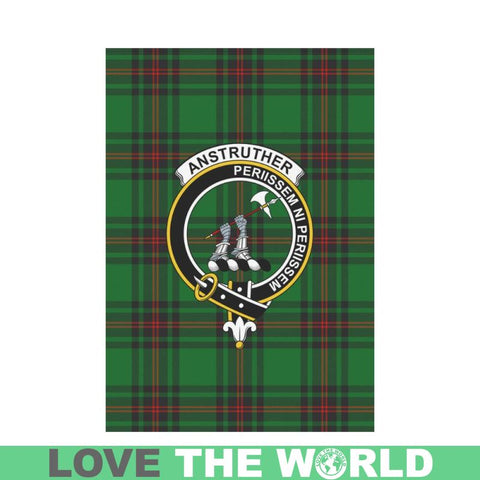 Anstruther Tartan Flag Clan Badge K7