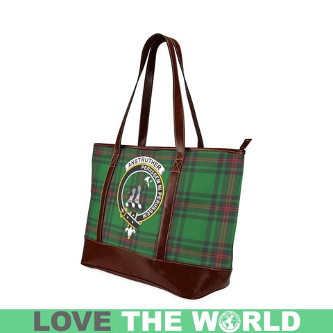 Anstruther Tartan Clan Badge Tote Handbag Hj4 Handbags