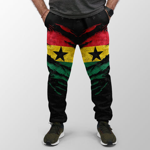 Ghana In Me Jogger (Women's/Men's) - Special Grunge Style A31