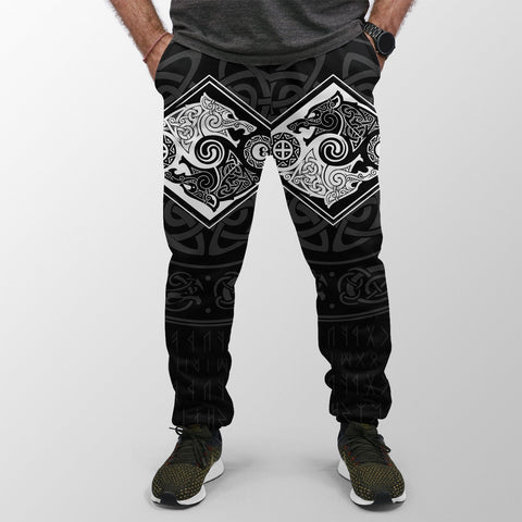 Vikings Jogger (Women's/Men's) The Wolves Skoll And Hati A31