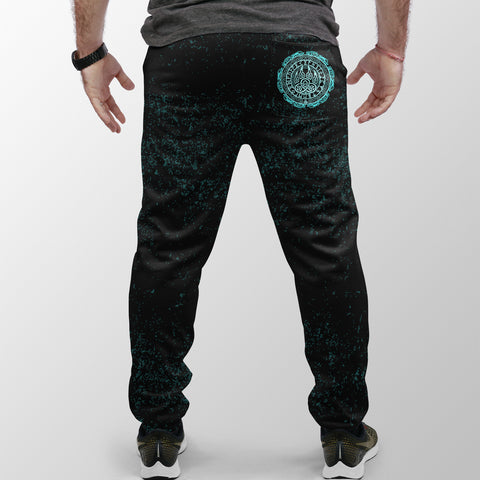 Viking Bear Claws Cyan Tattoo Jogger (Women's/Men's) A27