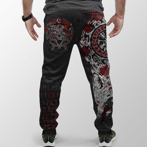 Viking Style Jogger (Women's/Men's) - Fenrir Viking Blood 3D A27