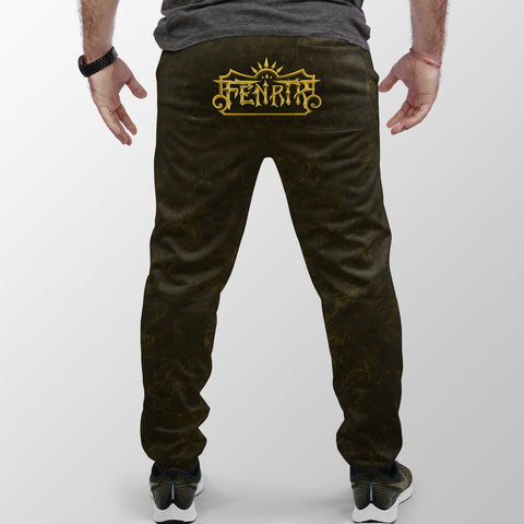 Image of Viking Style Fenrir Yellow Jogger (Women's/Men's) A31