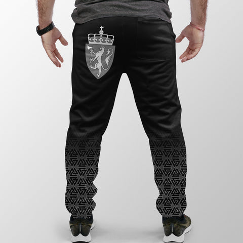 Viking Style Jogger (Women's/Men's) - Norway Coat Of Arms A31