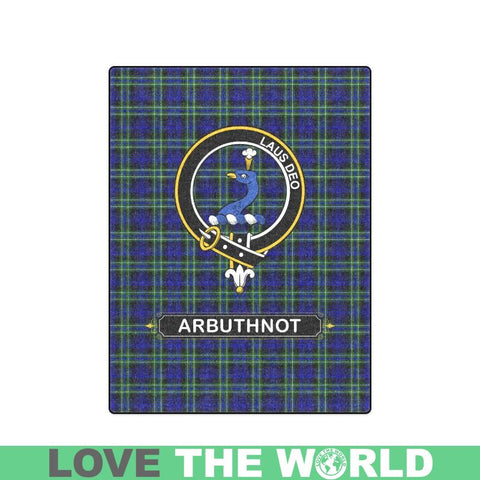 Image of Arbuthnot Clan Tartan Blanket Dn1 One Size / 40X50 Blankets