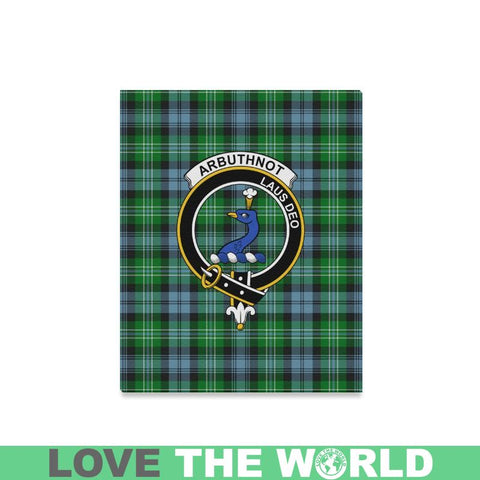 Tartan Canvas Print - Arbuthnot Clan | Over 300 Scottish Clans and 500 Tartans
