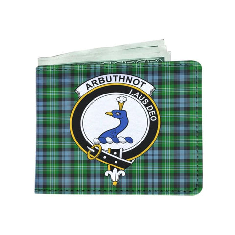 Arbuthnot Clan Tartan Men Wallet Y3 Wallets