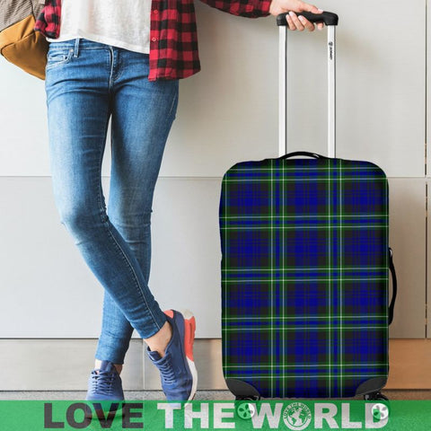 Arbuthnot Modern Tartan Luggage Cover Hj4 Covers