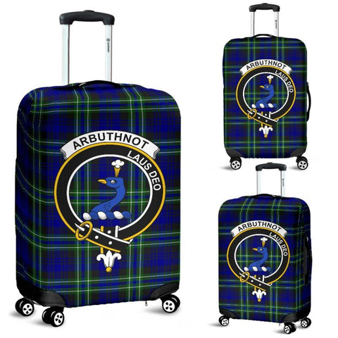 Arbuthnot Tartan Clan Badge Luggage Cover Hj4 Covers