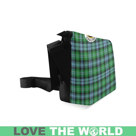 Arbuthnott Tartan Clan Badge Crossbody Bag C20 Bags