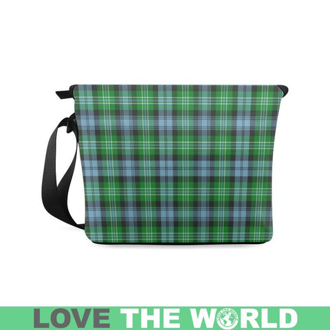 Image of Arbuthnott Tartan Clan Badge Crossbody Bag C20 Bags