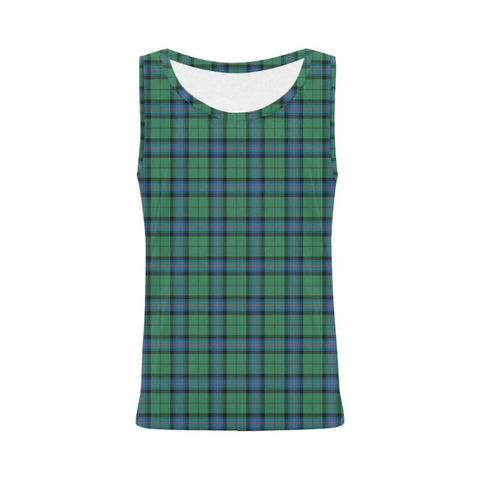 Image of Armstrong Ancient Tartan All Over Print Tank Top Nl25 S / Women Tops
