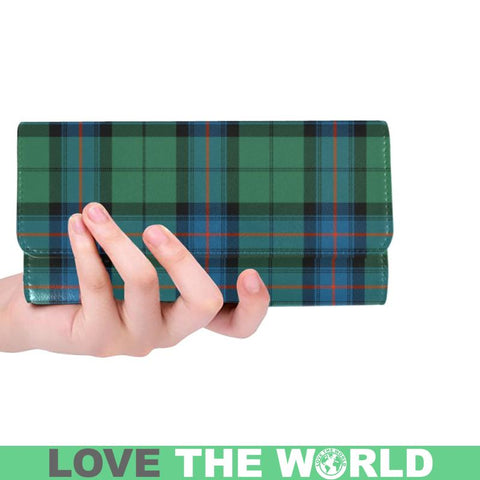 Armstrong Ancient Tartan Trifold Wallet V4 One Size / Armstrong Ancient Black Womens Trifold Wallet