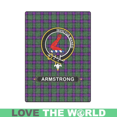 Armstrong Clan Tartan Blanket Dn1 One Size / 40X50 Blankets