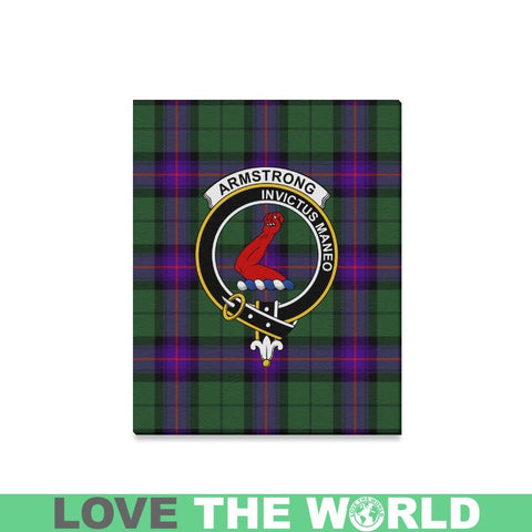 Tartan Canvas Print - Armstrong  Clan | Over 300 Scottish Clans and 500 Tartans