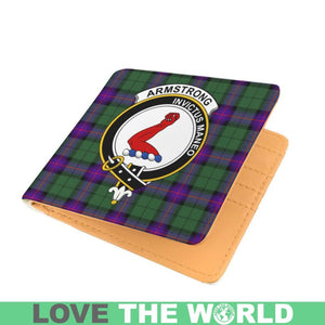 ARMSTRONG CLAN TARTAN MEN WALLET A3