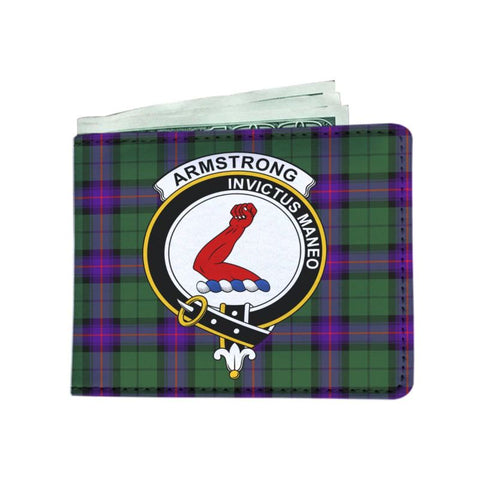 Armstrong Clan Tartan Men Wallet Y3 Wallets