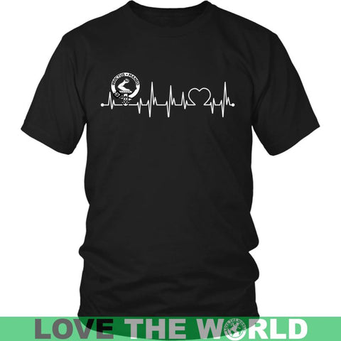 Image of Armstrong In My Heartbeat N9 Gildan Womens T-Shirt / Black S T-Shirts