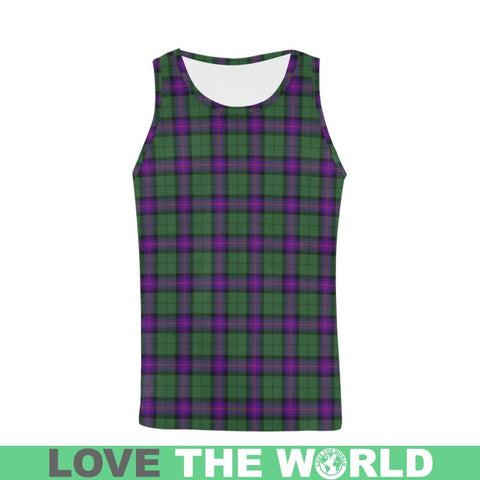 Image of Armstrong Modern Tartan All Over Print Tank Top Nl25 S / Women Tops