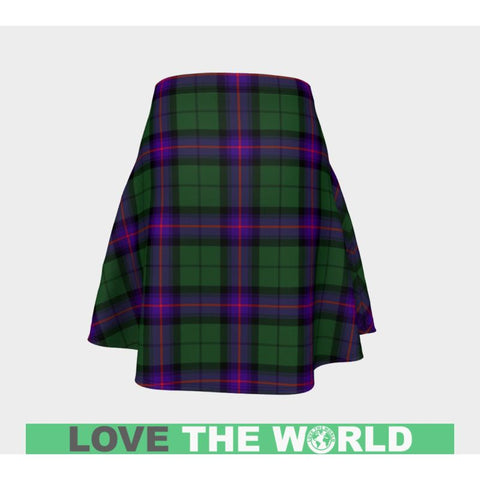 Tartan Skirt - Armstrong Modern Women Flared Skirt A9 |Clothing| 1sttheworld