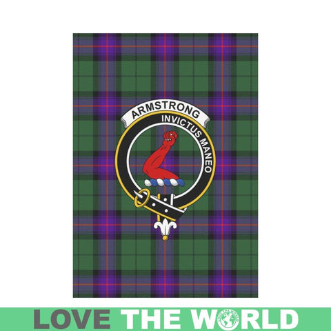 Armstrong Tartan Flag Clan Badge K7