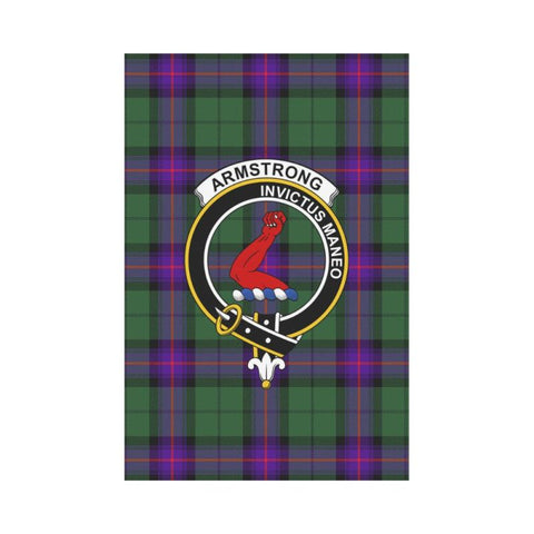 Armstrong Tartan Flag Clan Badge