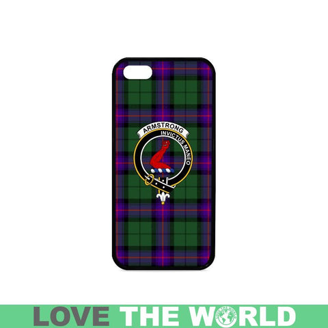 Armstrong Tartan Clan Badge Phone Case Na2 One Size / Armstrong Na2 1 Rubber Case For Iphone 7 Plus