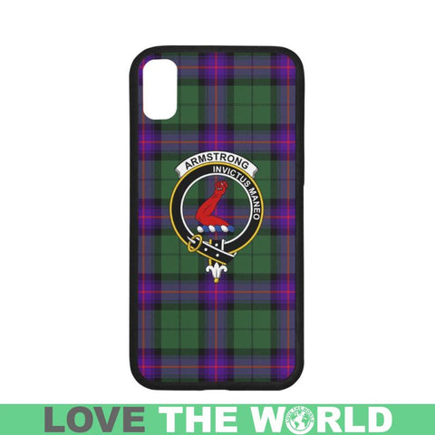 Image of Armstrong Tartan Clan Badge Phone Case Na2 One Size / Armstrong Na2 1 Rubber Case For Iphone 7 Plus