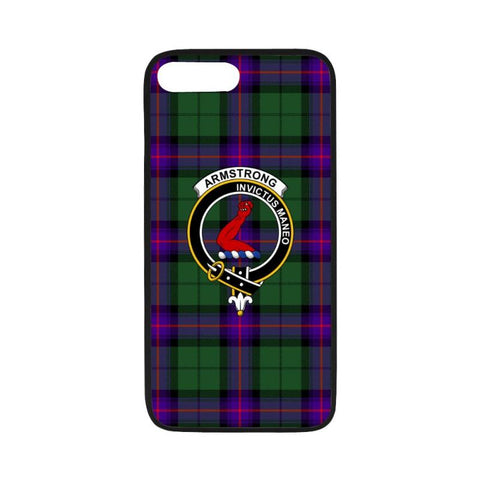 Image of Armstrong Tartan Clan Badge Rubber Phone Case Hj4 One Size / Rubber Case For Iphone 7 Plus (5.5