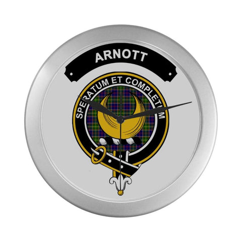 Image of Arnott Clan Tartan Wall Clock  - Love The World
