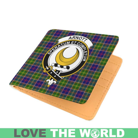 Image of Arnott Clan Tartan Men Wallet Y3 Wallets