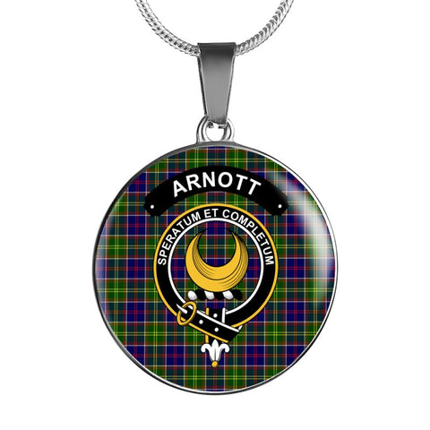 Arnott Clan Tartan Silver ( Necklace And Bangle) F1 Jewelries