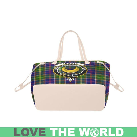 Arnott Tartan Clan Badge Clover Canvas Tote Bag C33 Bags