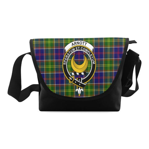 Image of ARNOTT TARTAN CLAN BADGE CROSSBODY BAG NN5