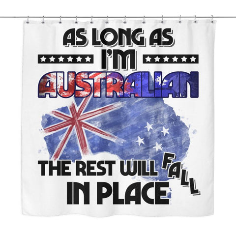 As Long Australia Shower Curtain - D1 Sh Curtains