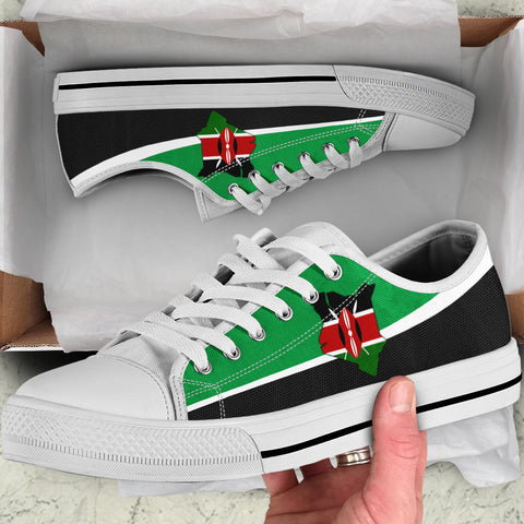 Kenya Map Special Low Top Shoe | High Quality | Hot Sale