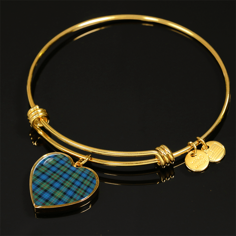 Image of Smith Ancient Tartan Golden Bangle - Bn