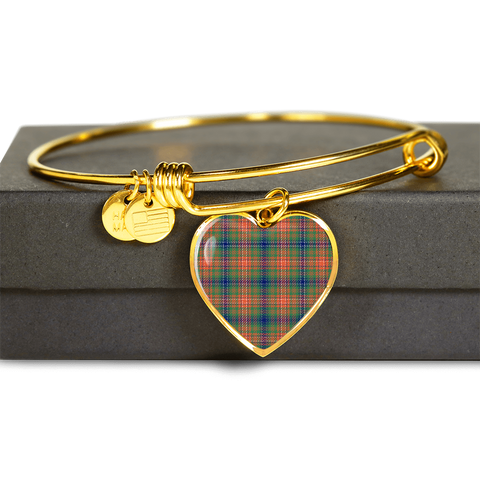 Wilson Ancient Tartan Golden Bangle - Bn01