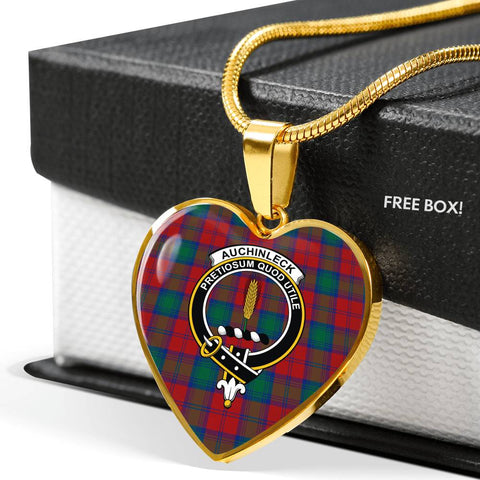 Image of Auchinleck Tartan Customize Necklace