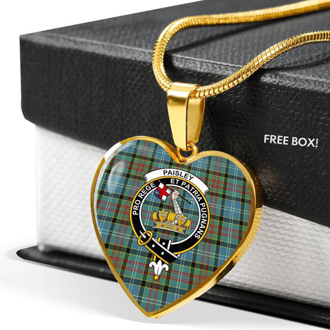 Paisley District Tartan Customize Necklace
