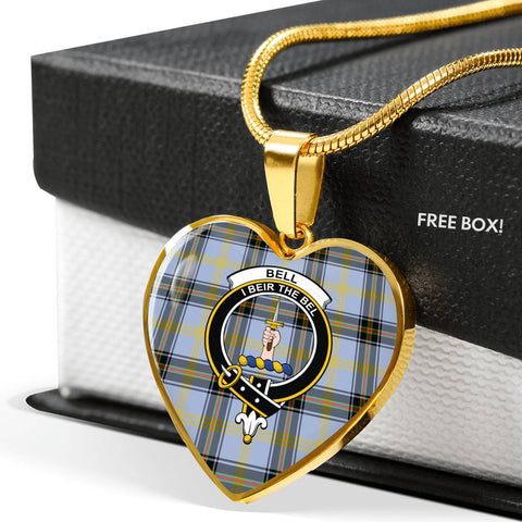 Bell of the Borders Tartan Customize Necklace