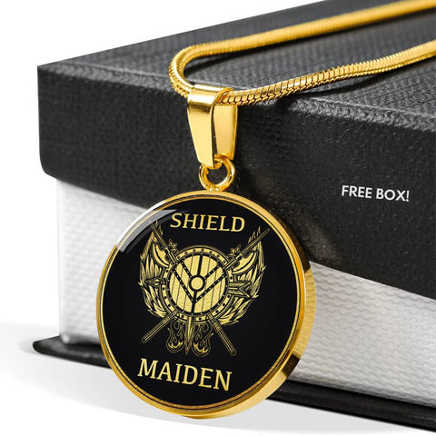Image of Viking Shield Maiden Necklace | Men & Women | Accessory
