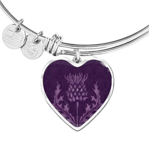 Scotland Bangle - Scottish Thistle Purple Edition | HOT Sale