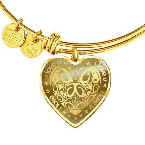 New Zealand Jewelry Maori Valentine ™ Bangle K8