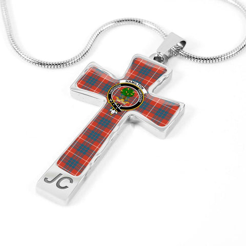 Hamilton Tartan Jewelry - Cross Necklace |Accessories| Love The World