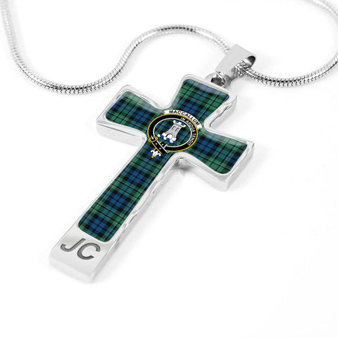 Maccallum Tartan Jewelry - Cross Necklace |Accessories| Love The World